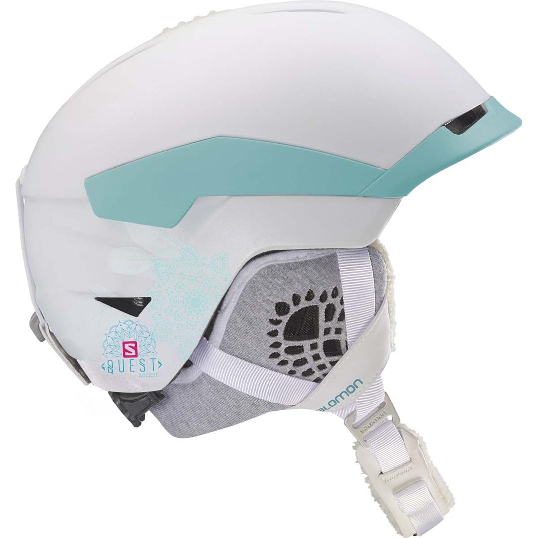 Salomon QUEST ACCESS WOMEN Helmet 2019 white | Warehouse One