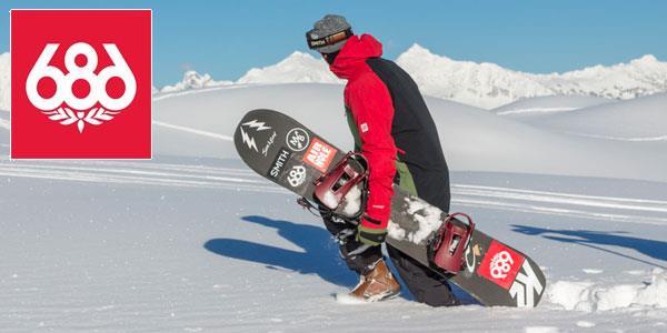 686 Snowboarding Apparel