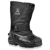 Kamik Fireball Snow Boots - Junior - Black