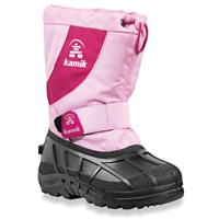 Kamik Fireball Snow Boots - Junior - Pink