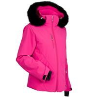 Nils Rosie Real Fur Jacket - Women's - Fuchsia