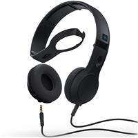 Skullcandy Cassette Headphones - Black / Black