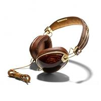 Skullcandy Roc Nation Headphones with Mic - Brown / Gold