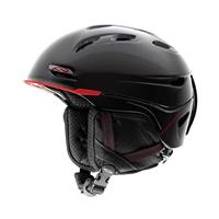 Smith Transport Helmet - Black/Red