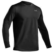 Under Armour Evo Coldgear Fitted Crew Top - Men's - Black
