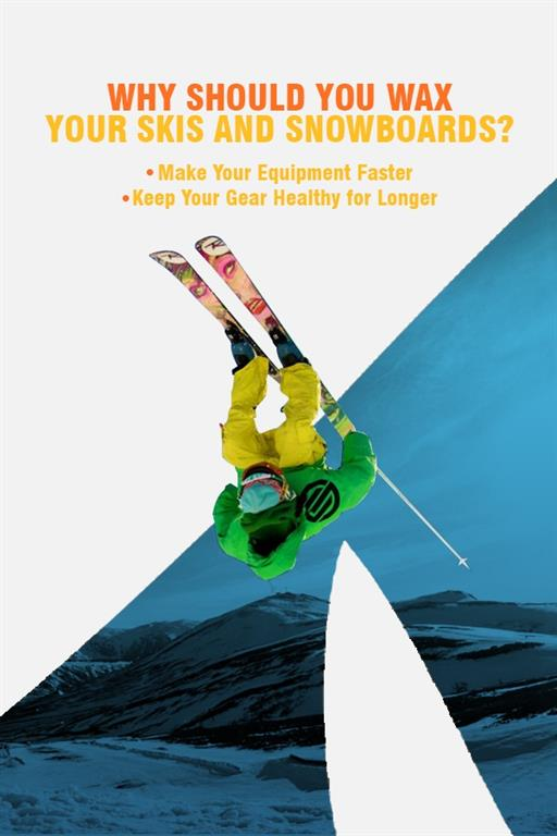 Why Should You Wax Your Skis & Snowboards